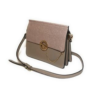 DUNE LONDON Taupe Envelope Chain Bag Purse Handbag